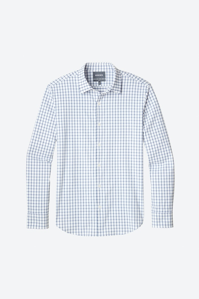 Tech Button Down Shirt Slim