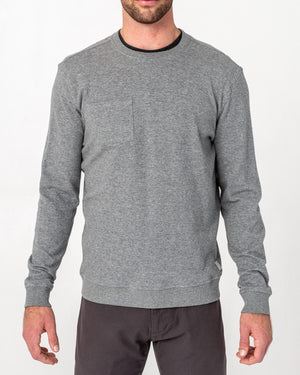 Pocket Crew Neck Sweatshirt
