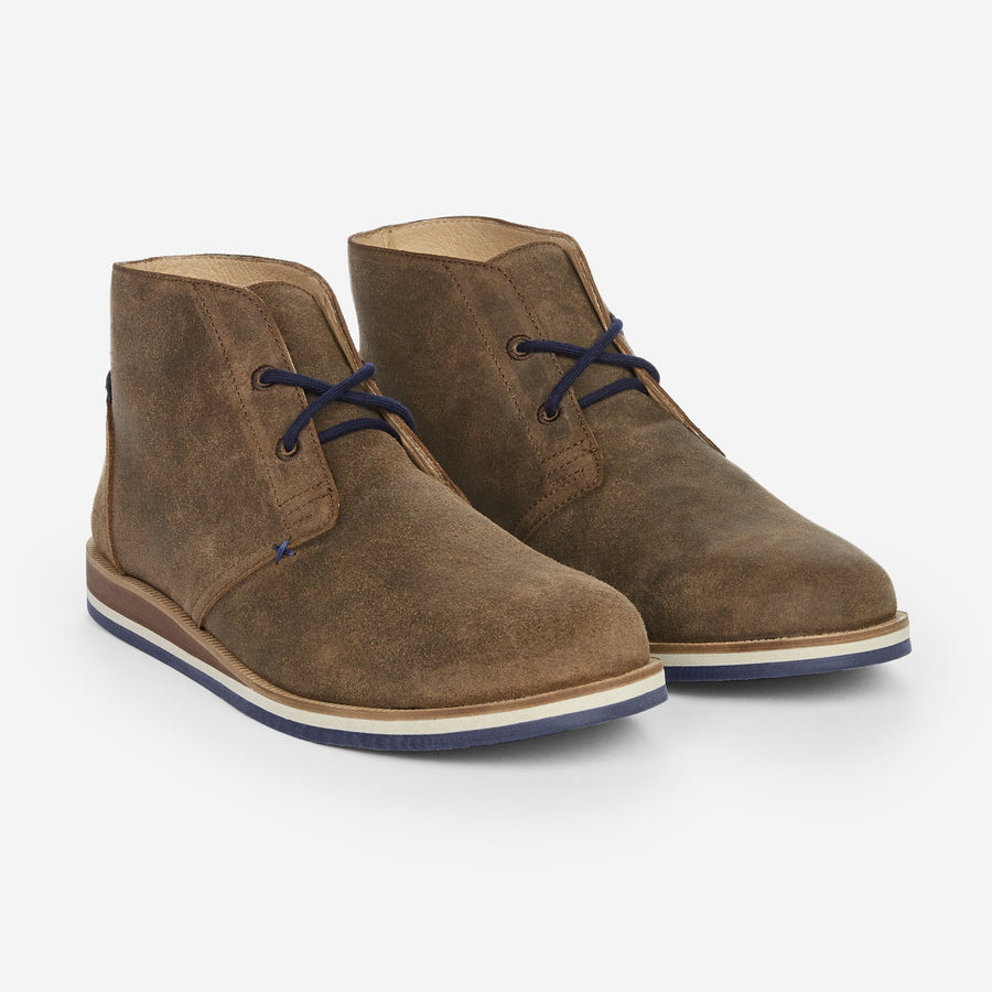 Waxed Adobe Desert Boot