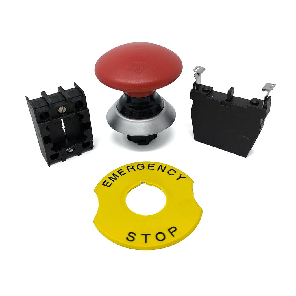Photo of Emergency Stop Assembly for Double Bucker  by Munch Machine
