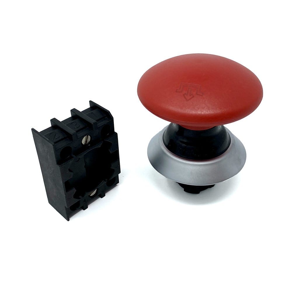 Emergency Stop Switch for Mother Bucker and Double Bucker by Munch Machine