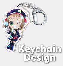 Load image into Gallery viewer, Minecraft Divines Keychain