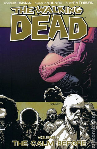 WALKING DEAD TPB VOL 07 THE CALM BEFORE...