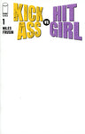KICK-ASS VS HIT-GIRL #1 BLANK SKETCH VARIANT