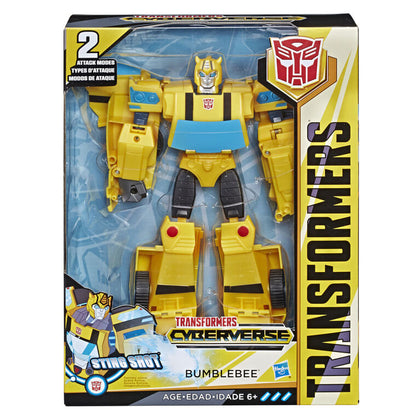TRANSFORMERS CYBERVERSE: ULTIMATE CLASS BUMBLEBEE STING SHOT