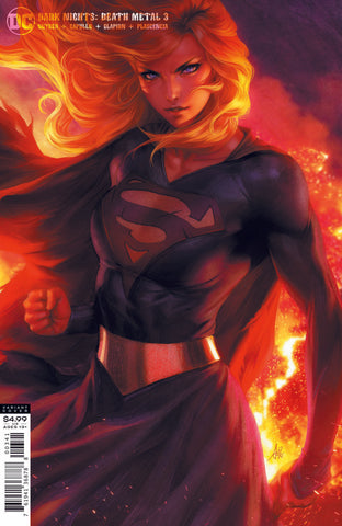 DARK NIGHTS DEATH METAL #3 STANLEY LAU (ARTGERM) SUPERGIRL VARIANT
