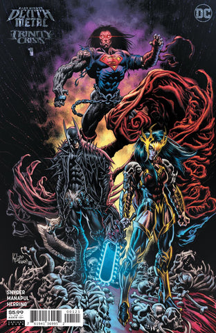 DARK NIGHTS DEATH METAL TRINITY CRISIS #1 1/25 VARIANT