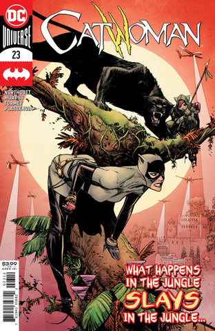 CATWOMAN #23 2ND PTG VARIANT