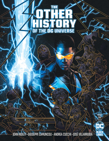 OTHER HISTORY OF THE DC UNIVERSE #1 VARIANT
