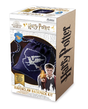 HARRY POTTER WIZARDING WORLD KNIT KIT RAVENCLAW BACKPACK