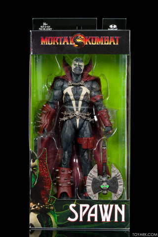 MORTAL KOMBAT SPAWN WITH AXE 7IN