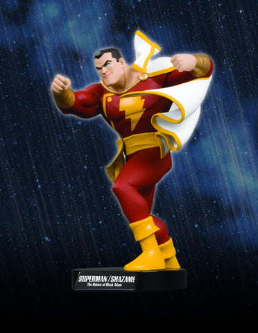 RETURN OF BLACK ADAM SHAZAM MAQUETTE