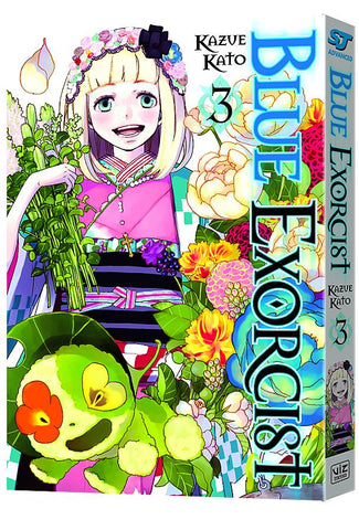 BLUE EXORCIST VOL 03