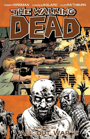 WALKING DEAD TPB VOL 20 ALL OUT WAR PART 1