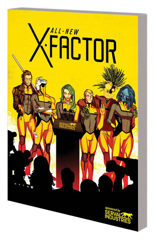 ALL NEW X-FACTOR TPB VOL 02 CHANGE OF DECAY