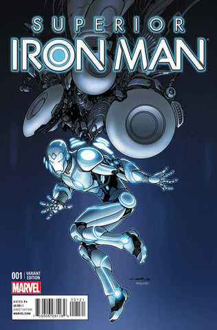 SUPERIOR IRON MAN #1 1/25 CINAR DESIGN VARIANT