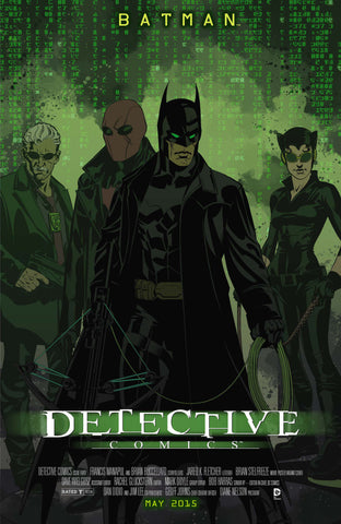 DETECTIVE COMICS (NEW 52) #40 MOVIE POSTER VARIANT