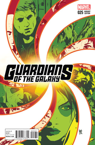 GUARDIANS OF THE GALAXY #25 1/25 SORRENTINO VARIANT