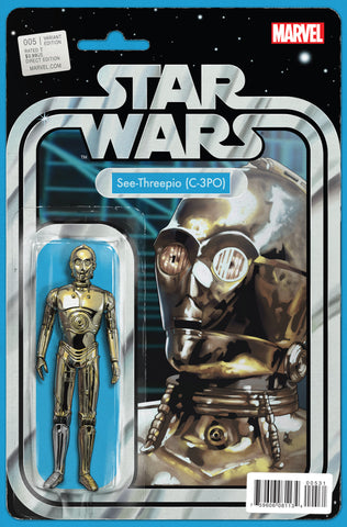 STAR WARS #5 CHRISTOPHER ACTION FIGURE VARIANT