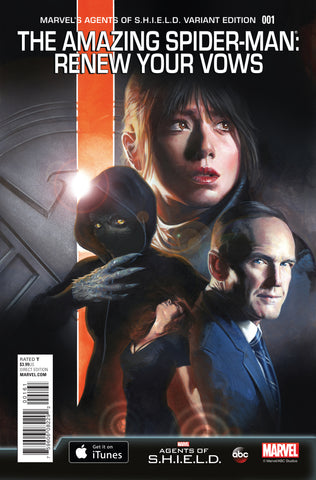 AMAZING SPIDER-MAN RENEW YOUR VOWS #1 1/15 AGENTS OF SHIELD VARIANT