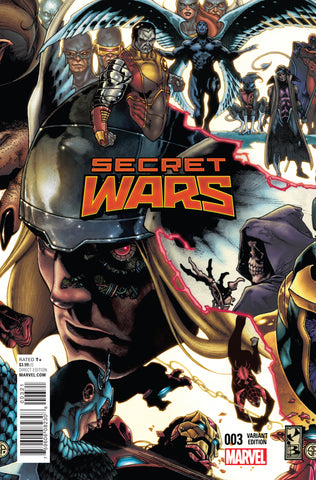 SECRET WARS #3 1/20 BIANCHI CONNECTING VARIANT