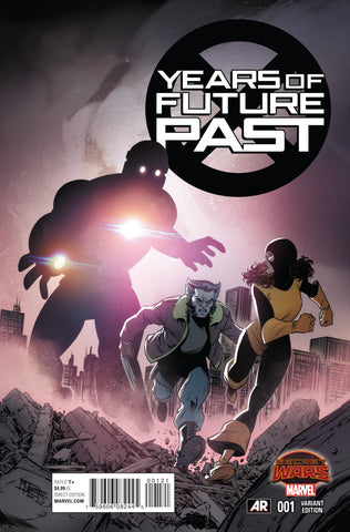 YEARS OF FUTURE PAST #1 1/25 NORTON VARIANT