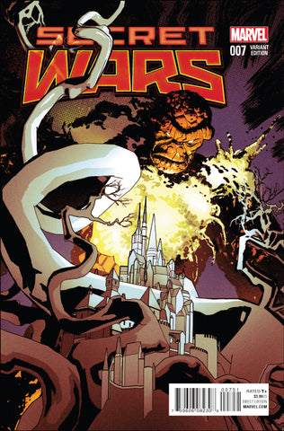 SECRET WARS #7 1/25 CLASSIC VARIANT