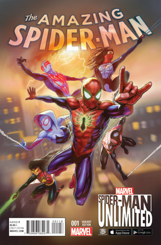 AMAZING SPIDER-MAN #1 1/10 UNLIMITED GAME VARIANT
