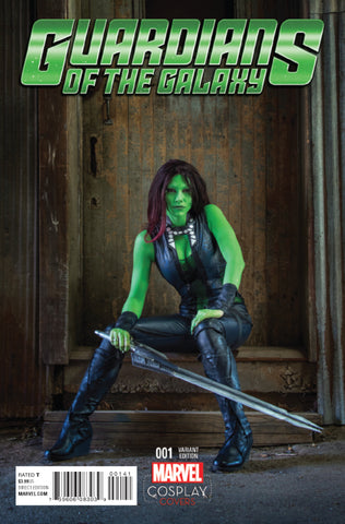 GUARDIANS OF THE GALAXY #1 1/15 COSPLAY VARIANT