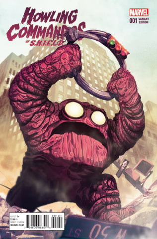 HOWLING COMMANDOS OF SHIELD #1 1/10 KIRBY MONSTER VARIANT