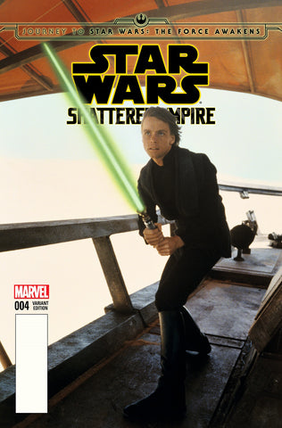 JOURNEY TO STAR WARS: THE FORCE AWAKENS - SHATTERED EMPIRE #4 1/25 MOVIE VARIANT