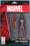 MS MARVEL #1 CHRISTOPHER ACTION FIGURE VARIANT