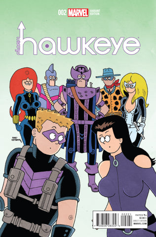 ALL NEW HAWKEYE #2 1/10 HEMBECK VARIANT