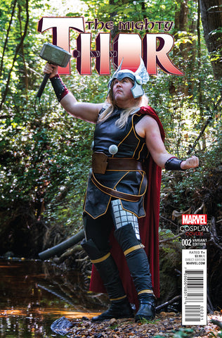 MIGHTY THOR #2 1/15 COSPLAY VARIANT