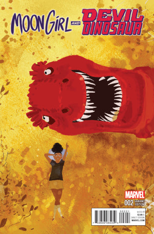 MOON GIRL AND DEVIL DINOSAUR #2 1/25 CAMPION VARIANT
