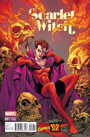 SCARLET WITCH #1 1/20 MARVEL 92 RANEY VARIANT