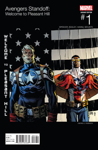 AVENGERS STANDOFF: WELCOME TO PLEASANT HILL #1 ROBINSON HIP HOP VARIANT