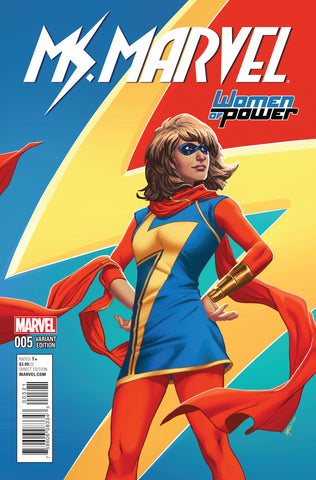 MS MARVEL #5 LUPACCHINO WOMEN OF POWER VARIANT