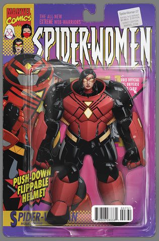 SPIDER-WOMAN #7 CHRISTOPHER ACTION FIGURE VARIANT