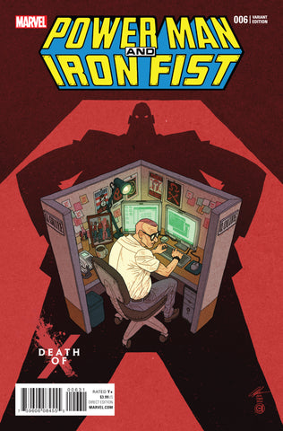 POWER MAN AND IRON FIST #6 CHAN DEATH OF X VARIANT