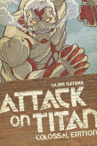 ATTACK ON TITAN COLOSSAL EDITION VOL 03