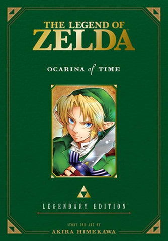 LEGEND OF ZELDA LEGENDARY EDITION VOL 01 OCARINA OF TIME