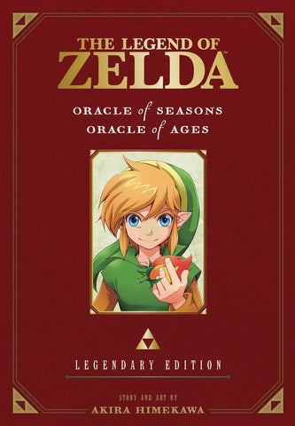 LEGEND OF ZELDA LEGENDARY EDITION VOL 02 ORACLE OF SEASONS & ORACLE OF AGES