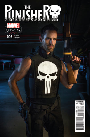 PUNISHER #6 1/15 COSPLAY VARIANT
