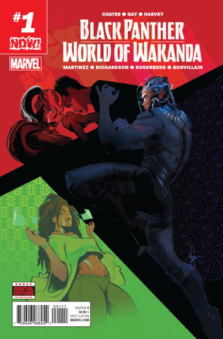 BLACK PANTHER WORLD OF WAKANDA #1