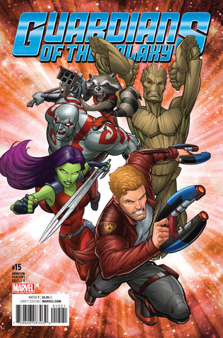 GUARDIANS OF THE GALAXY #15 1/10 ANIMATION VARIANT