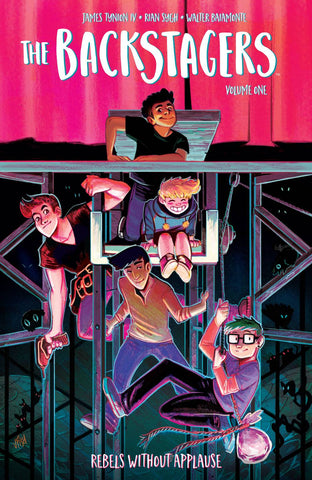 BACKSTAGERS TPB VOL 01