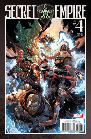 SECRET EMPIRE #4 1/25 LEINIL YU VARIANT