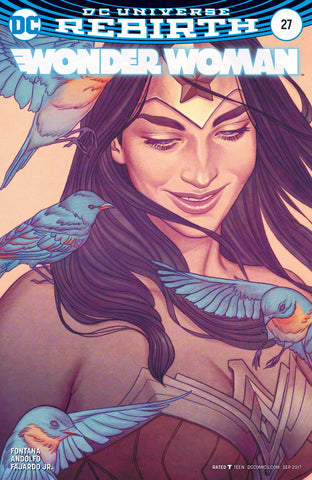 WONDER WOMAN #27 VARIANT