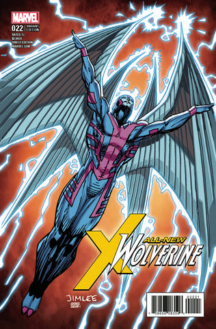 ALL NEW WOLVERINE #22 X-MEN TRADING CARD VARIANT